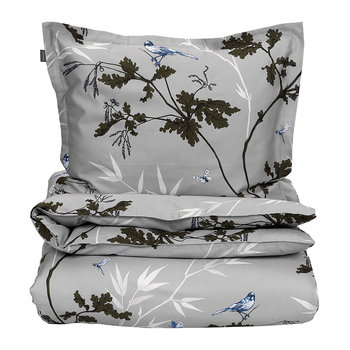 Birdfield Duvet Cover - Grey