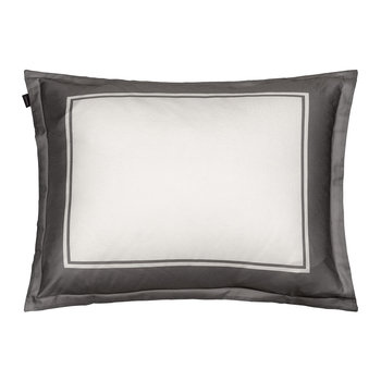 Border Pillowcase - 50x75cm - Moon Grey