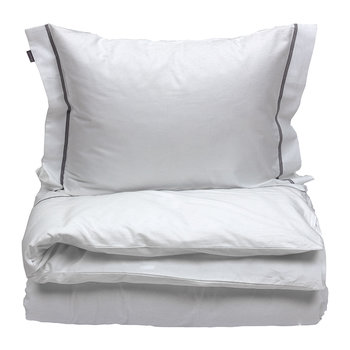 New Oxford Duvet Cover - White