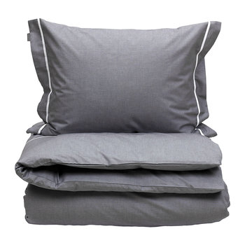 New Oxford Duvet Cover - Elephant Grey