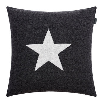 Coussin en tricot Zack - 50 x 50 cm - Anthracite