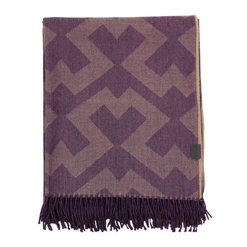 Bursa Throw - 130x180cm - Purple Beech