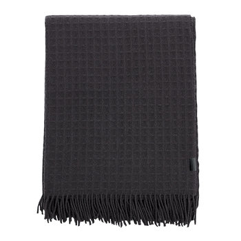 Waffle Throw - 130x180cm - Anthracite