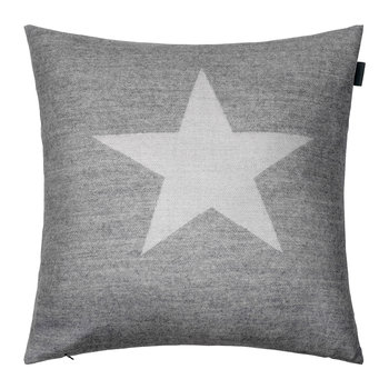 Star Cushion - 50x50cm - Grey