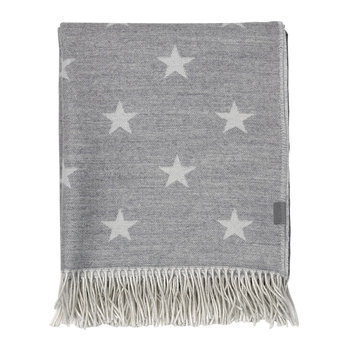 Star Throw - 130x180cm - Grey