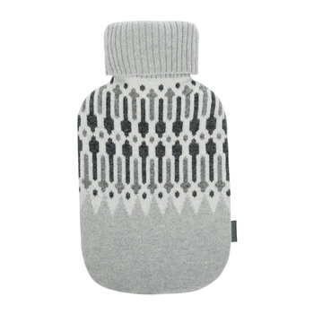 Nordic Knit Bottle Warmer - Grey