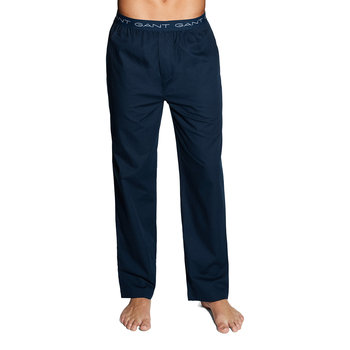 Men's Solid Navy Pyjamas Bottoms