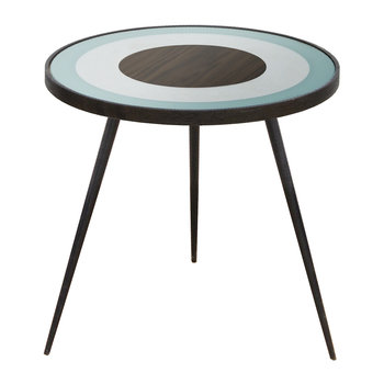 Bullseye Side Table - Sage