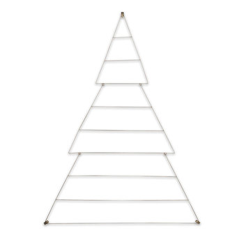 Talini Small Christmas Tree - Antique Brass