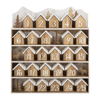 Mini Houses Advent Calendar