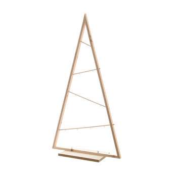Wooden Standing Decorative Tree