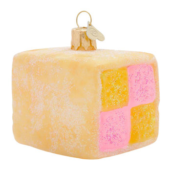 Little Battenberg Tree Decoration