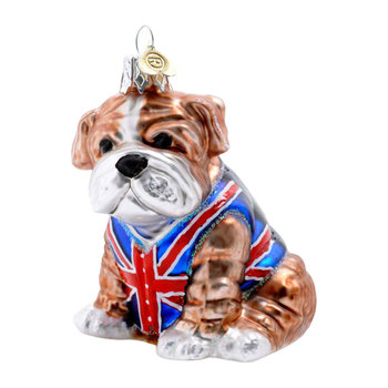 Little British Bulldog Tree Decoration