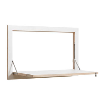 Flapps Secretary Folding Shelf - White
