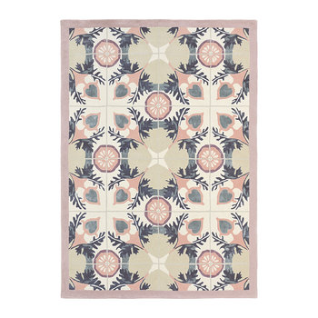 Light Green Violet Rug