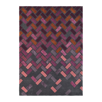 Deep Purple Agave Rug