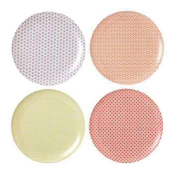 Pastels Dinner Plate - Set of 4