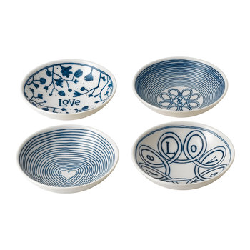Ellen DeGeneres Love Bowls - Set of 4