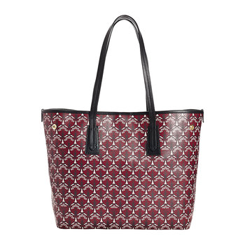 Iphis Marlborough Handbag - Oxblood