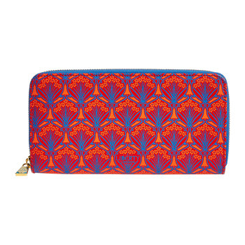 Iphis Large Zip Wallet - Red