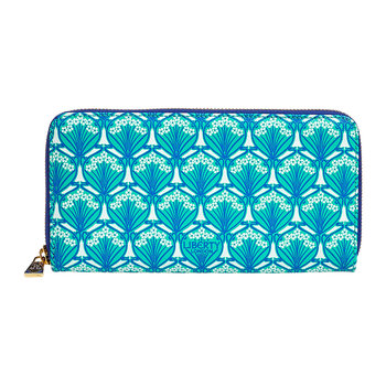 Iphis Large Zip Wallet - Green