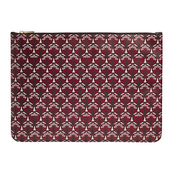 Iphis Large Pouch - Oxblood