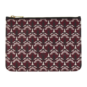 Iphis Small Pouch - Oxblood