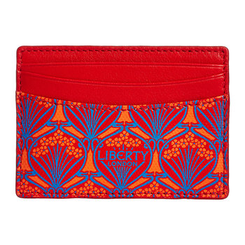 Iphis Card Holder - Red