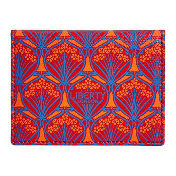Iphis Travel Card Holder - Red