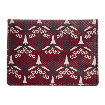 Iphis Travel Card Holder - Oxblood