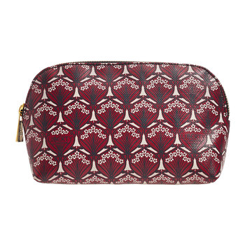 Iphis Make-up Bag - Oxblood