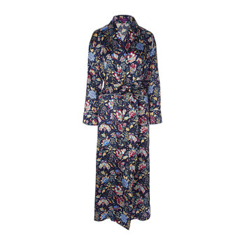 Women's Christelle Navy Long Robe