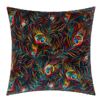 Orion Velvet Pillow - 60x60cm - Black