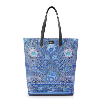 Hera PVC Tote Bag - Blue