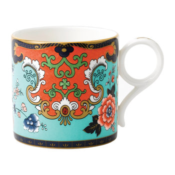 Wonderlust Large Mug - Ornamental Scroll