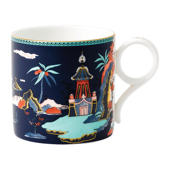 Wonderlust Large Mug - Blue Pagoda