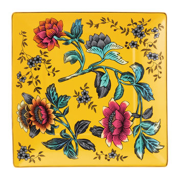 Wonderlust Square Tray - Yellow Tonquin