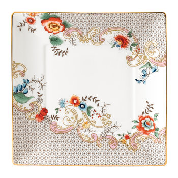 Wonderlust Square Tray - Rococo Flowers