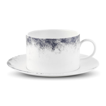 Pointilliste Teacup & Saucer