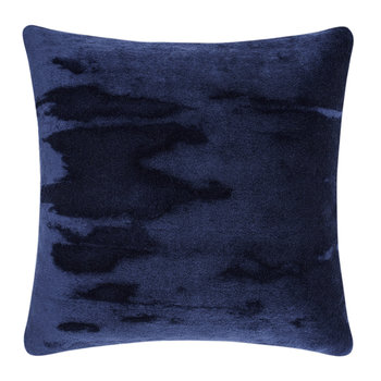 Soft Mohair Velvet Cushion - 45x45cm - Blue