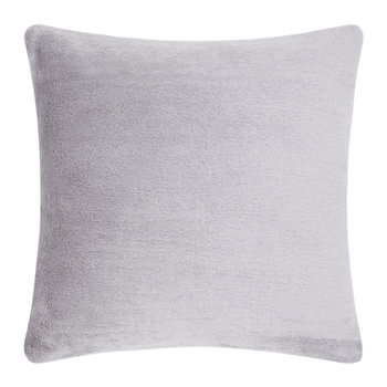 Soft Mohair Velvet Cushion - 45x45cm - Grey