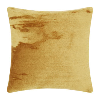 Soft Mohair Velvet Cushion - 45x45cm - Ochre