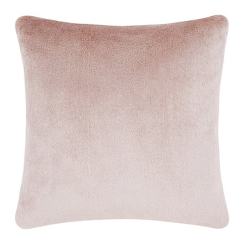 Soft Mohair Velvet Cushion - 45x45cm - Pink