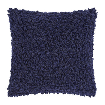 Boucle Cushion - 45x45cm - Blue
