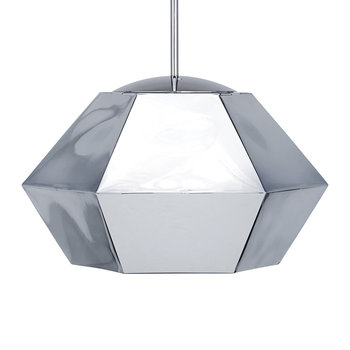 Cut Pendant Light - Chrome