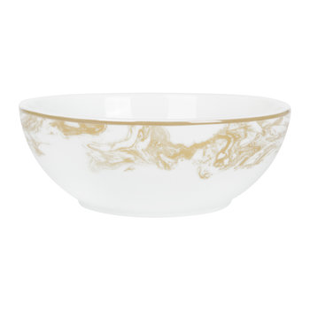 Gunnison Porcelain Bowl - Gold