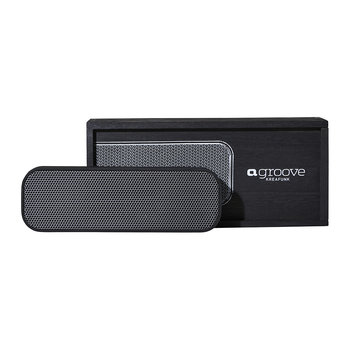 aGroove Bluetooth Speaker - Black/Gunmetal