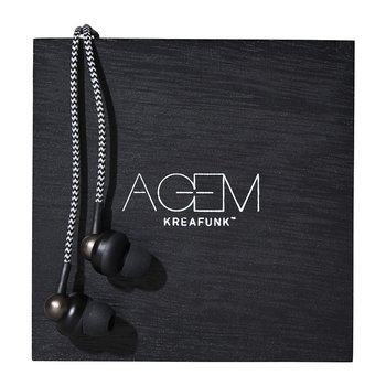 aGem In-Ear Headphones - Black Edition