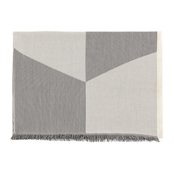Sway Throw - 180x130cm - Black/White