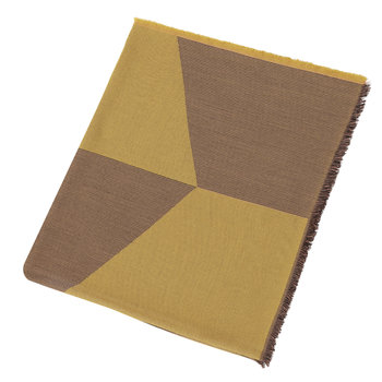 Sway Throw - 180x130cm - Mustard